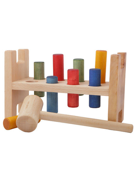 Wooden Story, Pound a Peg Wooden Toy