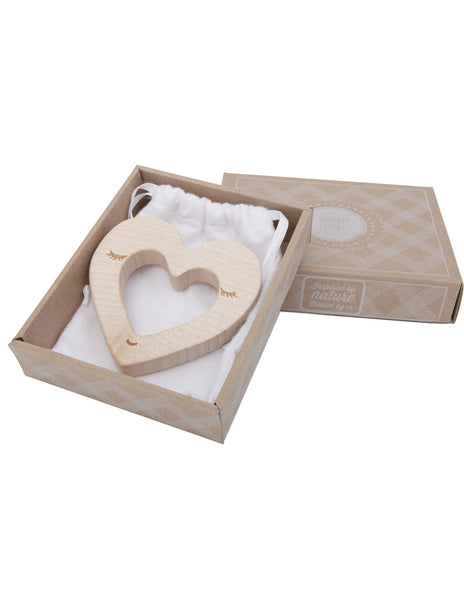 Wooden Story, Teether, Heart