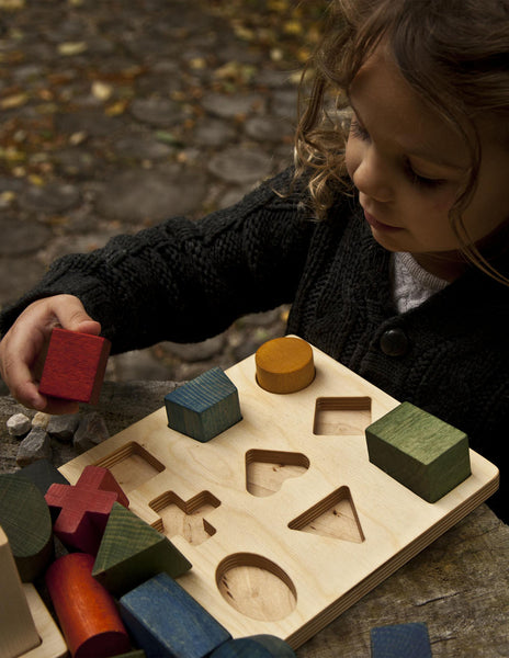 Wooden Story, Rainbow Wooden Puzzle
