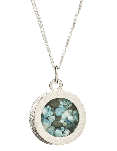 December Birthstone Necklace, Turquoise, Rachel Jackson London | Roses and the Stars