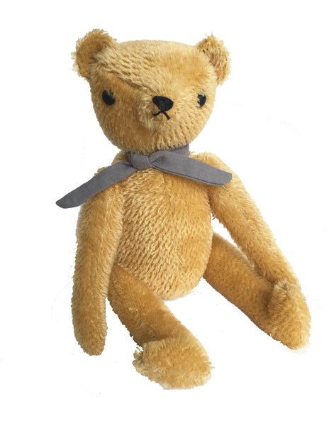 Buy Polka Dot Club Handmade Teddy Bear, Apricot | Roses and the Stars