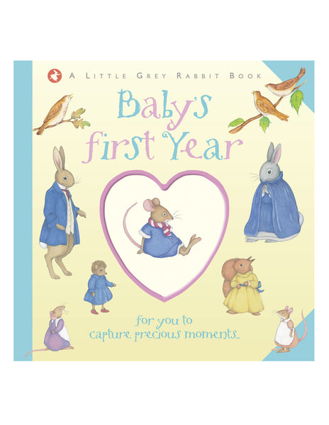 Buy Little Grey Rabbit Baby Record Book | Roses and the Stars