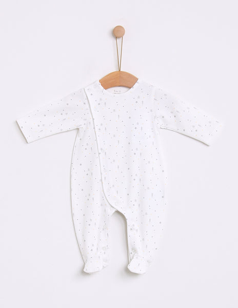 Buy Knot Kids Babygrow, Winter Forest | Roses and the Stars