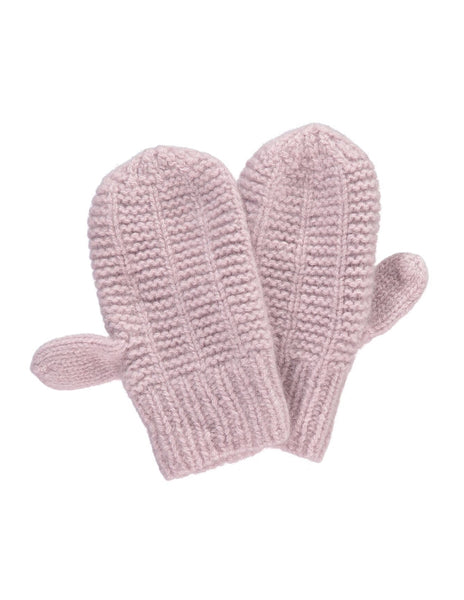 Buy Olivier Baby Cashmere Mittens, Dusty Rose | Roses and the Stars