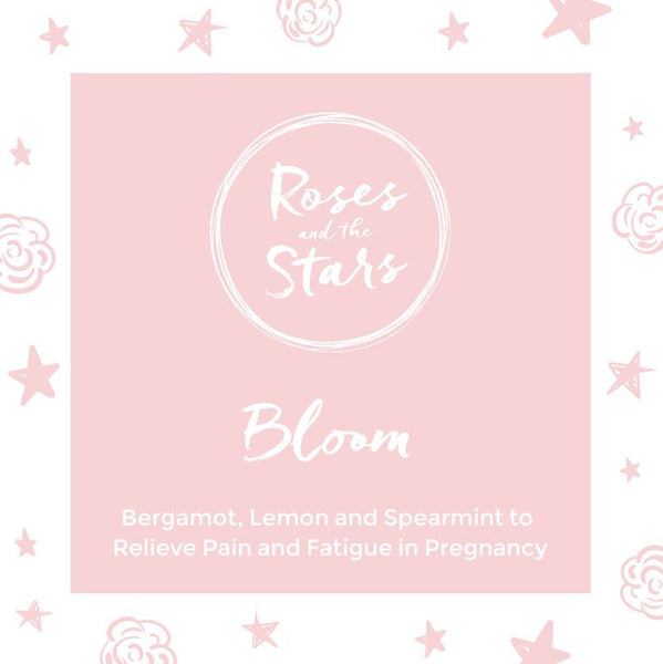 Roses and the Stars, Scented Candle for Pregnancy, Bloom