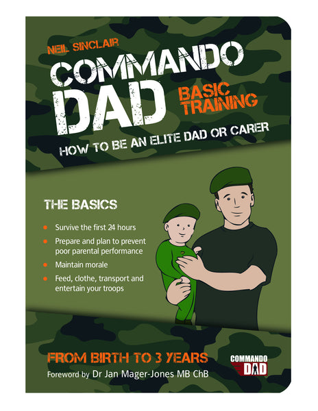 Buy Commando dad, parenting book | Roses and the Stars