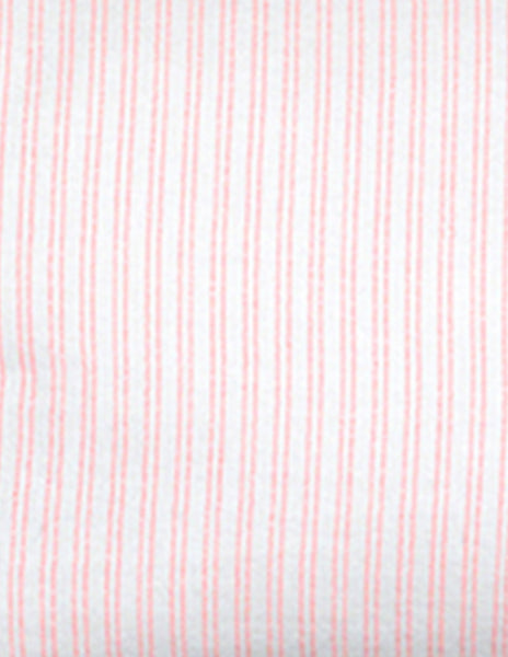 Buy Blossom Paris wash bag, toileteries bag, with coral pink stripes | Roses and the Stars