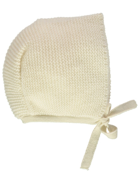 Buy Olivier Baby Cream Cashmere Baby Bonnet | Roses and the Stars