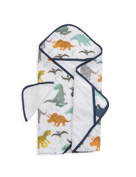 Buy Little Unicorn, Hooded Towel, Dinosaur | Roses and the Stars