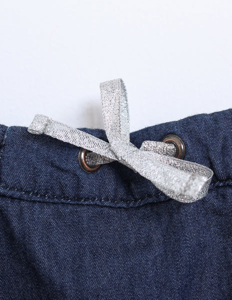 Buy Knot Denim Trousers | Roses and the Stars