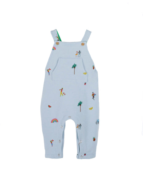 Buy Arsene et les Pipelettes Dungarees, Palm Tree | Roses and the Stars