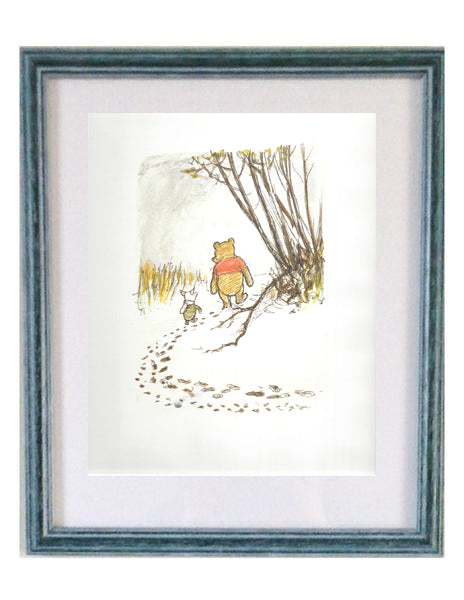 Buy Winnie the Pooh Framed Print | Roses and the Stars