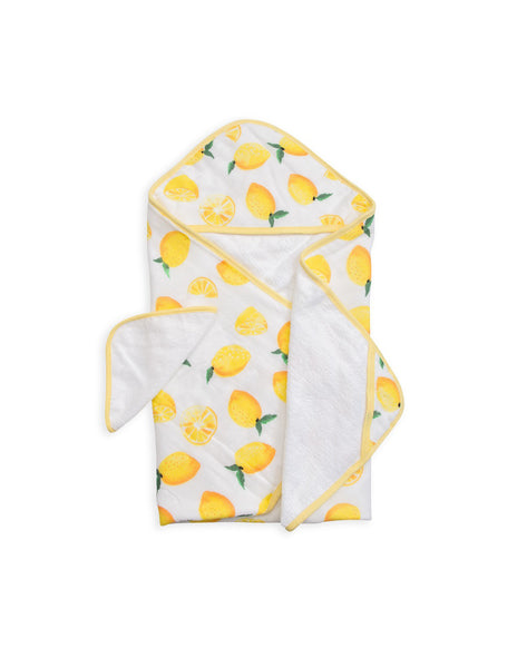 Buy Little Unicorn, Hooded Towel, Lemon | Roses and the Stars