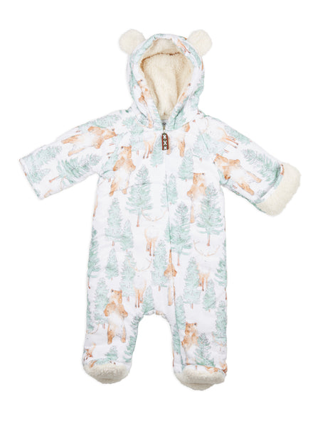 Buy Annaliv Woodland Bear Snowsuit | Roses and the Stars