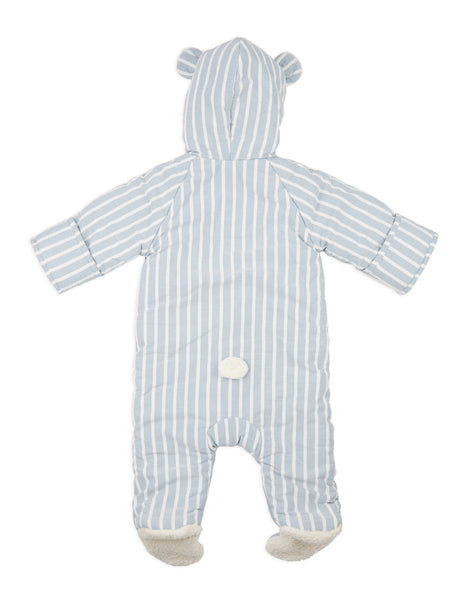 Buy Annaliv Blue Stripe Snowsuit | Roses and the Stars