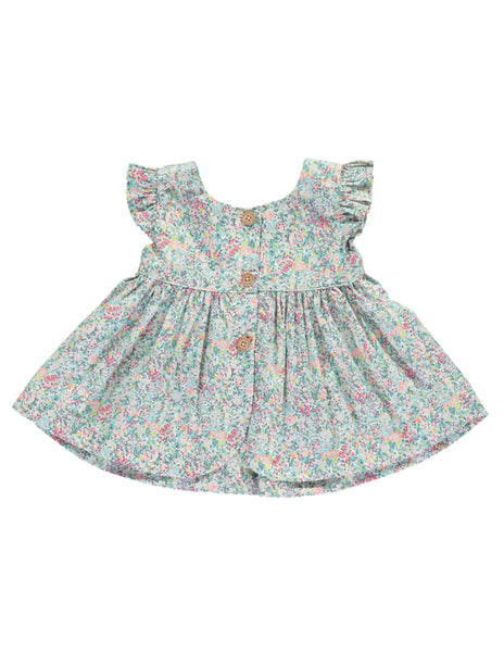 Buy Olivier Baby Liberty Print Baby Girl Top | Roses and the Stars
