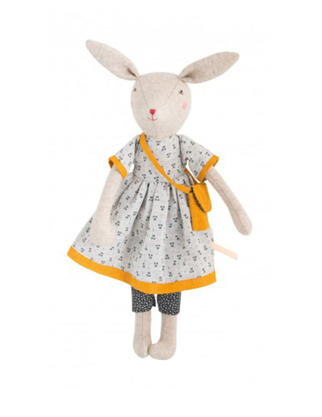 Buy Moulin Roty Mummy Rabbit | Roses and the Stars