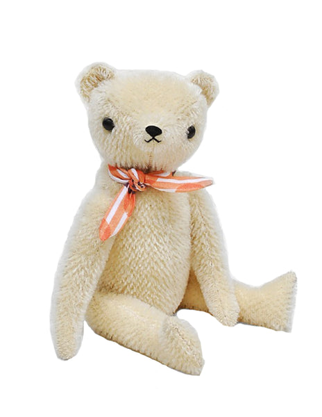 Buy Polka Dot Club Handmade Teddy Bear, Cream | Roses and the Stars