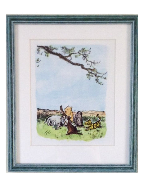 Winnie the Pooh, Pooh and Friends Print
