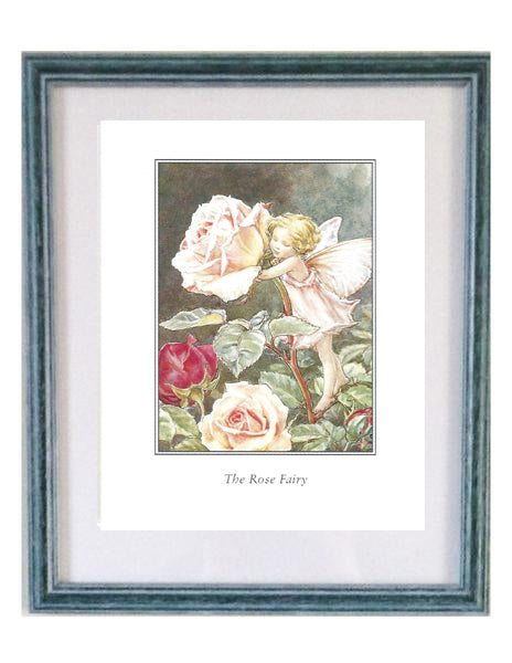 Buy Flower Fairy Rose Framed Print | Roses and the Stars
