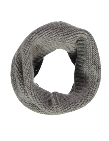 Buy Olivier Baby, Cashmere Snood, Elephant Grey | Roses and the Stars