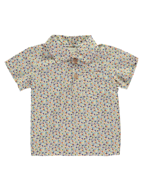 Buy Olivier Baby Liberty Print Boys Shirt | Roses and the Stars
