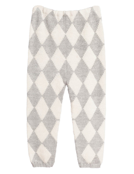 Buy Waddler Harlequin Knitted Leggings | Roses and the Stars