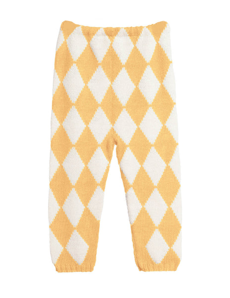 Waddler, Harlequin Leggings, Yellow