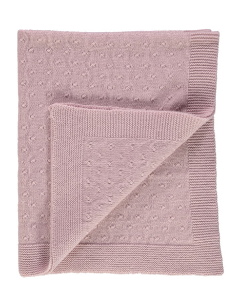 Buy Pink Cashmere Blanket | Roses and the Stars