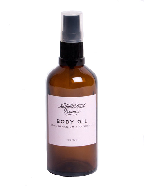 Buy Nathalie Bond Body Oil, Rose and Patchouli | Roses and the Stars