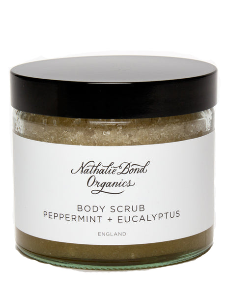 Buy Nathalie Bond Body Scrub, Peppermint and Eucalyptus | Roses and the Stars