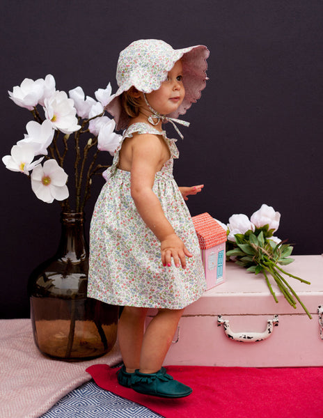 Buy Olivier Baby Liberty Print Sundress | Roses and the Stars