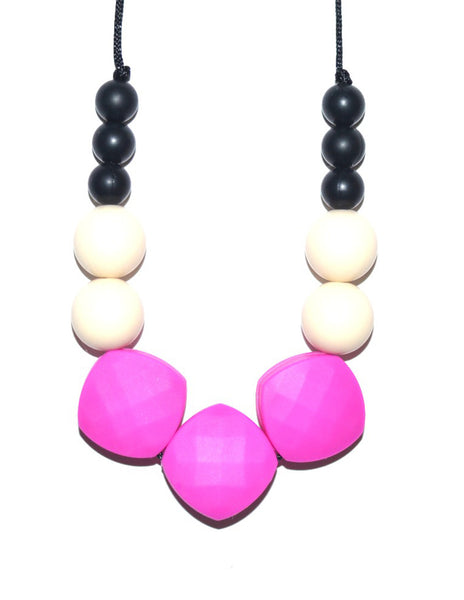 Buy Bo and Bel Teething Necklace | Roses and the Stars