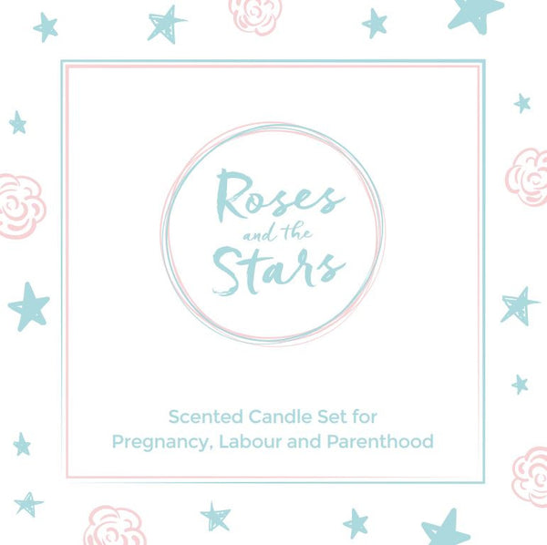 Roses and the Stars, Scented Candle Gift Set
