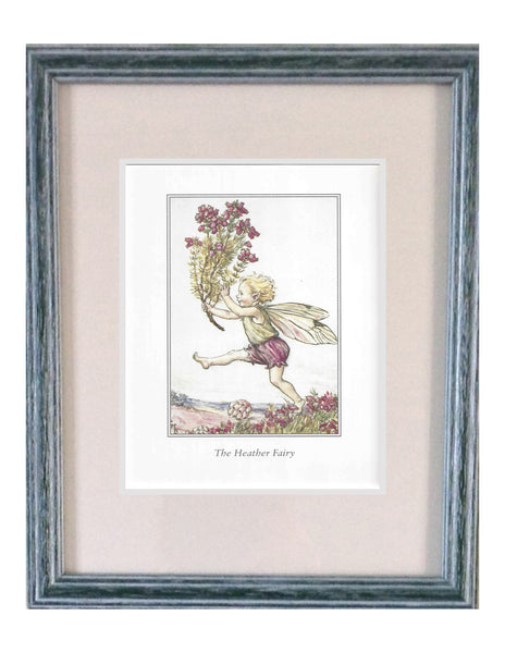 Buy Heather Flower Fairy Print | Roses and the Stars