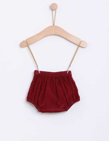 Buy Knot Velvet Baby Bloomers | Roses and the Stars