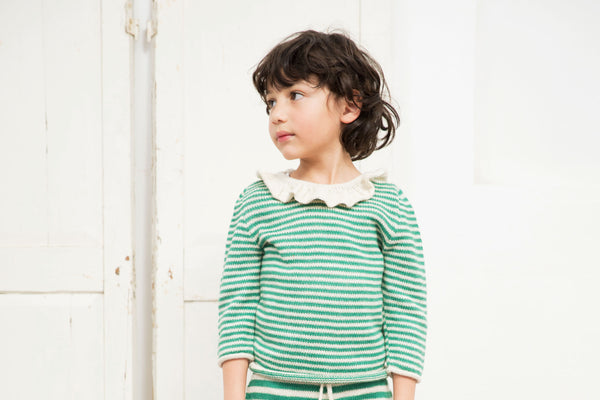 Buy Waddler Striped Pierrot Jumper | Roses and the Stars