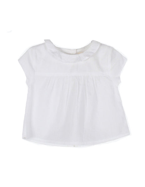 Arsène et les Pipelettes, Frill Collar Blouse, for baby girl