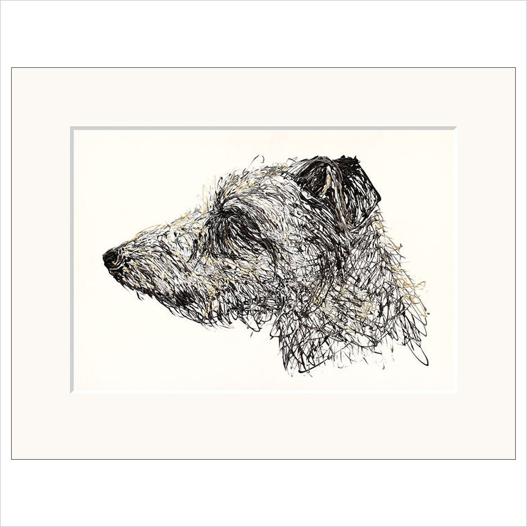 Lurcher limited edition fine art unframed