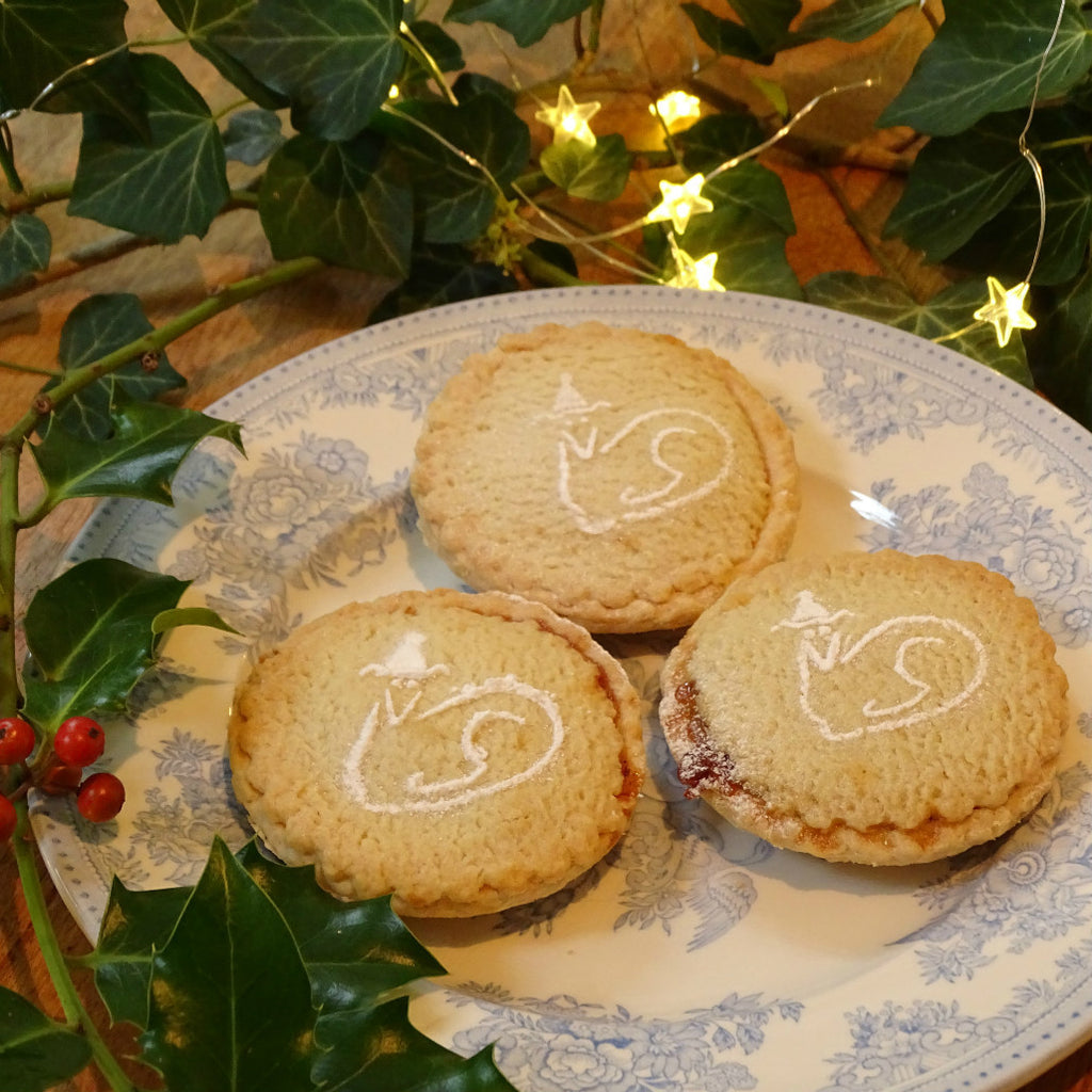 Mini Christmas Bakery Stencil