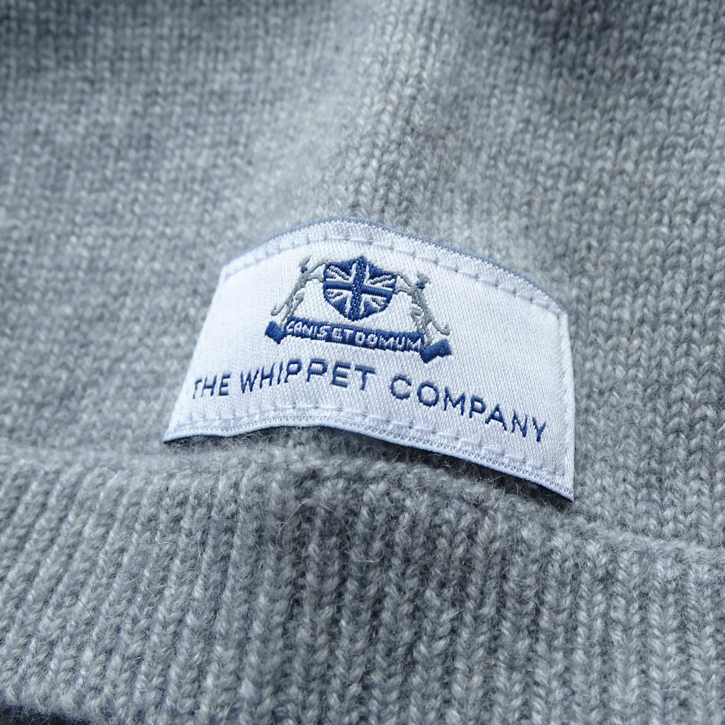 Cashmere Whippet sweater in 'mist'