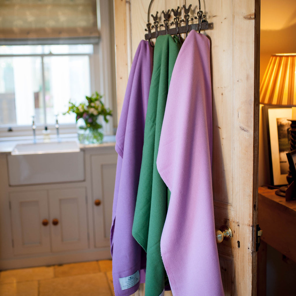 Lightweight Wool Throw