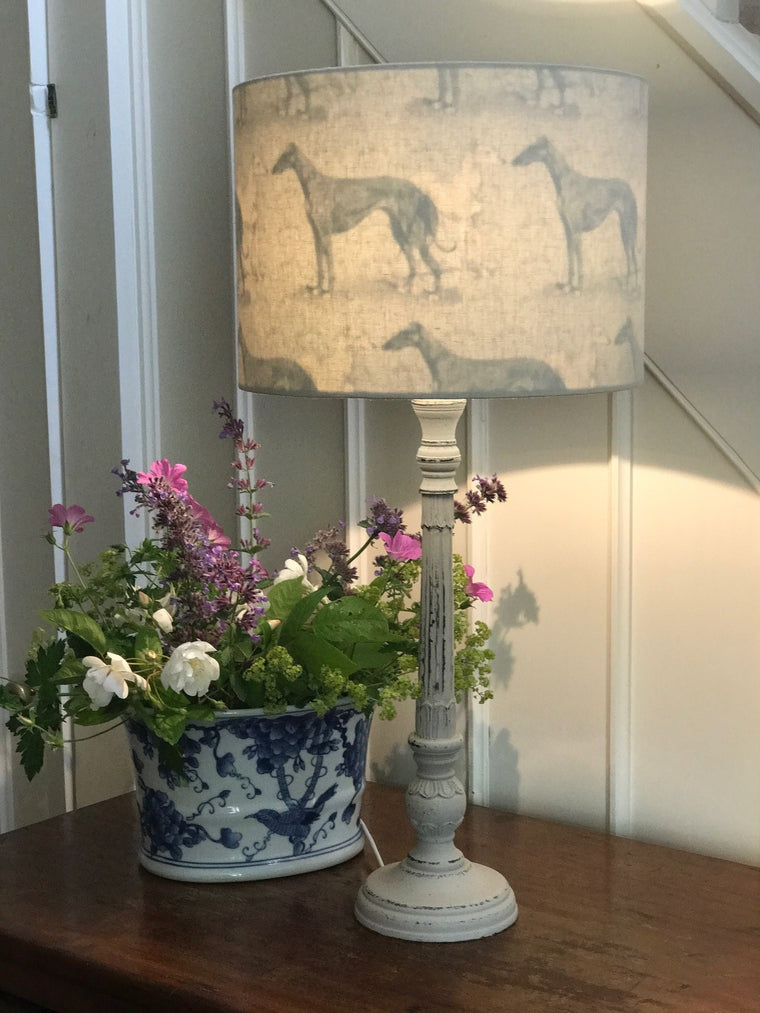 Inside Out Greyhound & Whippet Print Lampshade