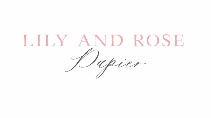 Lily and Rose Papier
