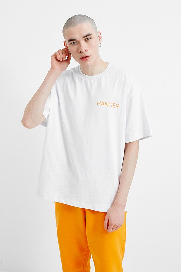 HANGER x UO Shoin-Zukuri White Tee  - HANGER inc - Made in London Sustainable Ethical Designer Fashion Latex Rubber Clothing