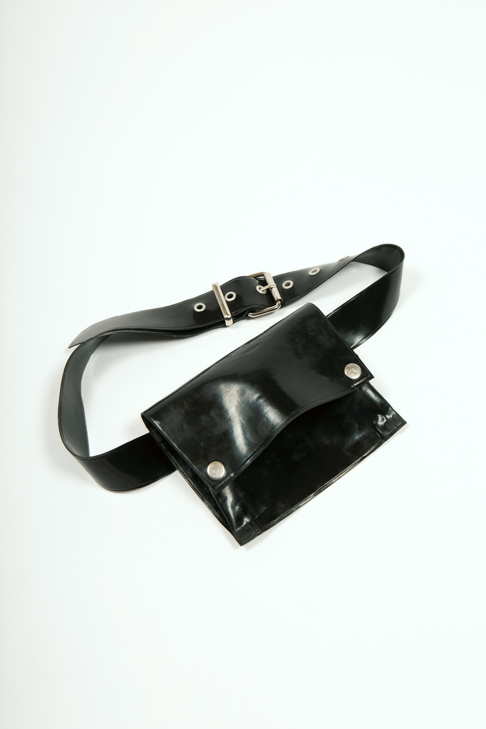 Beruto Waist Bag Accessory - HANGER inc - Made in London Sustainable Ethical Designer Fashion Latex Rubber Clothing