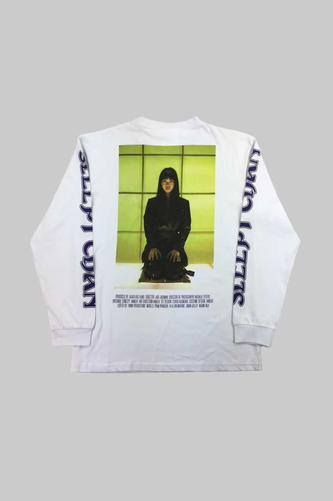 HANGER x UO Sleepy Chan Poster Long-Sleeve Tee  - HANGER inc - Made in London Sustainable Ethical Designer Fashion Latex Rubber Clothing