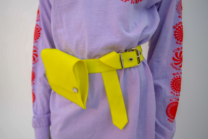 Beruto Waist Bag PRE-ORDER Accessory - HANGER inc - Made in London Sustainable Ethical Designer Fashion Latex Rubber Clothing