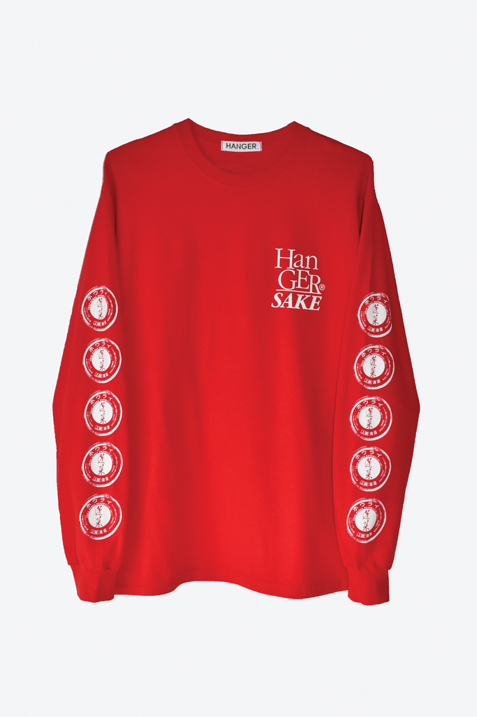 Hanger Sake Long Sleeve Red