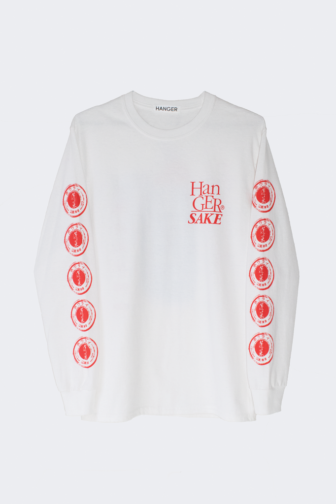 Hanger Sake Long Sleeve White